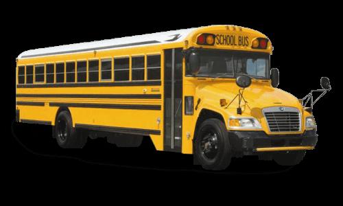 School Bus Rental Cutout